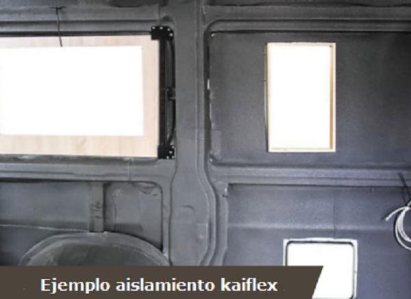 Ejemplo aislamiento kaiflex