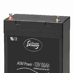 Términales baterías Whisper Power